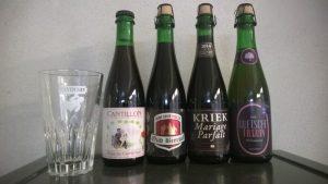 Geuze und Fruchtlambik von Cantillon, Oud Beersel, Boon und Tilquin