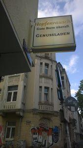 Genussladen Hopfenrausch in Köln-Ehrenfeld