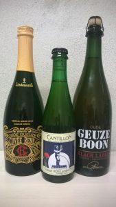 belgische Geuze von Lindemans, Cantillon und Boon